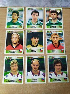 VINTAGEN card Soccer PANINI FOOTBALL UEFA EURO 96 EUROPE EUROPA