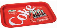 Coca Cola Tint Collectible Serving Tray Red