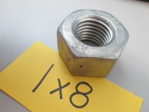 1 X 8 Hex Nut