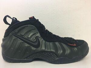10 hombre Foamposite Black 304 talla Orange para Pro 887232538835 Air Team 624041 Nike Sequoia vxTq7wII5