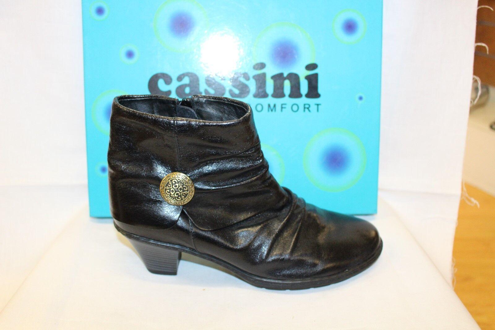 LADIES SHOES FOOTWEAR - Cassini Boot Mercia black