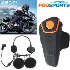 1000m Bluetooth Intercom BT-S2 Motorcycle Helmet Waterproof interphon Headset FM