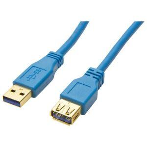 2m-USB-3-0-Kabel-Verlaengerung-Verlaengerungskabel-High-Speed-Kabel-bis-zu-5-GBits