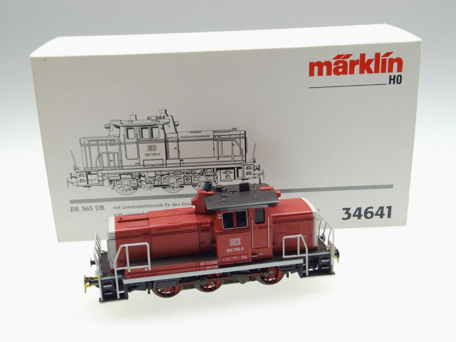 (87 083) Märklin h0 DIESEL BR 365 709-5 DB (Art. - N. 34641) AC digitale telex