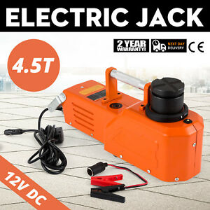 12v Hydraulic Floor Jack Electric Car Lift 9900lbs Heavy
