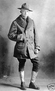 1918-Era-Portrait-of-an-American-Doughboy-Term-for-WW1-Army-Marine-Soldier