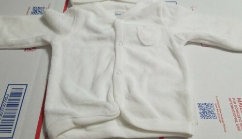 Details about  /Carter/'s Baby Girl White Cardigan Sweater New Born and 3 Month