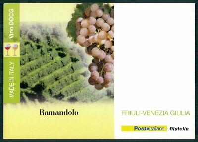 """Liberal Italien Werbekarte """"made In Italy"""" Weinanbau Wein Wine Trauben Friuli Ed56 Produkte HeißEr Verkauf"""