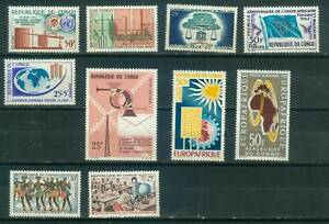 Kongo Lot  Einzelwerten , ** ,  ( 76BC)