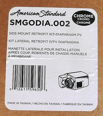 Chrome American Standard SMGOPIS.002 MANUAL FLUSH VALVES SIDE-MOUNT OPERATOR-AS//GEM RETROFIT