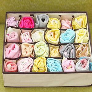 Ties-Socks-Shorts-Bra-Underwear-Divider-Drawer-Closet-Organizer-Storage-Boxes