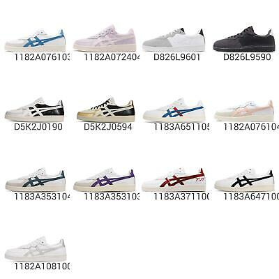 asics onitsuka tiger gsm white blue women classic casual