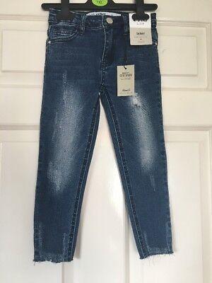 Bnwt Primark Jeans Skinny Con Cintura Regolabile Età 4-5 Anni-mostra Il Titolo Originale Vendendo Bene In Tutto Il Mondo