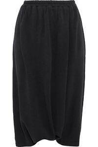 a03be250e7d Y-3 Yohji Yamamoto Women's M Lux Saroul Jersey Harem Shorts Pants ...