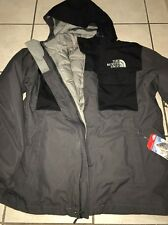 North Face Hauser TriClimate Mens A2TCL-MN8 Black Insulated Down Jacket Size L