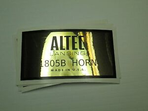 ALTEC-1805B-Loudspeaker-Driver-034-DECAL-034-New