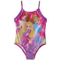Disney Princess Toddler Girls One Piece Swimsuit 2t Pink