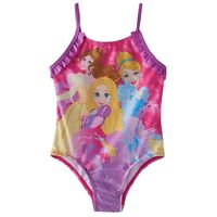 Disney Princess Toddler Girls One Piece Swimsuit 2t Pink