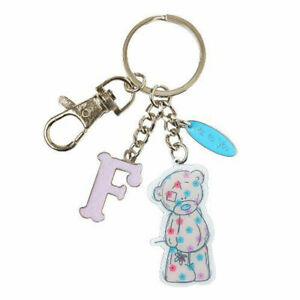 Me-To-You-Tatty-Teddy-Bear-Letter-F-Keyring-with-Charms-by-Carte-Blanche