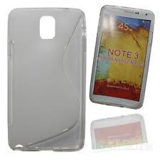 Silikonhülle Siliconcase für Samsung Galaxy Note 3 / SM-N9005 - transparent