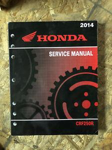Details about Genuine Honda Service Manual 2014 CRF250R 61KRN60
