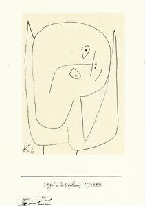 Postkarte: Paul Klee - Engel voller Hoffnung