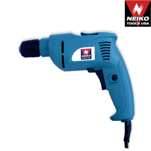 """4.2 AMP UL//CUL Reversible Neiko 3//8/"""" Electric Drill Variable Speed 0-3000 RPM"""