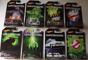 Hot Wheels 1:64 - Ghostbusters Serie EINZELMODELLE zum Auswählen - Limitiert