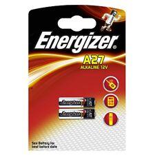 2 X Energizer A27 12v Batería 27a Mn27 Gp27a e27a el812
