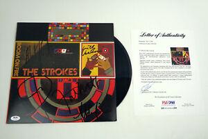 The-Strokes-Band-Signed-Autograph-Room-On-Fire-Vinyl-Record-Album-PSA-DNA-COA