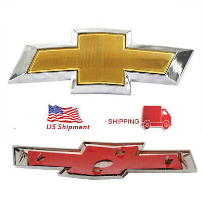 Front Bumper LOGO Emblem For 11-14 Chevy Cruze Grille Badge sign symbol logo