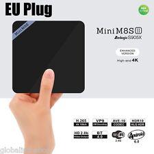TV Set-up Box Mini M8S II Smart Amlogic S905X Quad Core Android 4K 2GB+8GB BT4.0