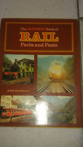 Guiness Book Of Rail Facts & Feats - John Marshall 1975 Dpmmdcgi-07175522-881270774