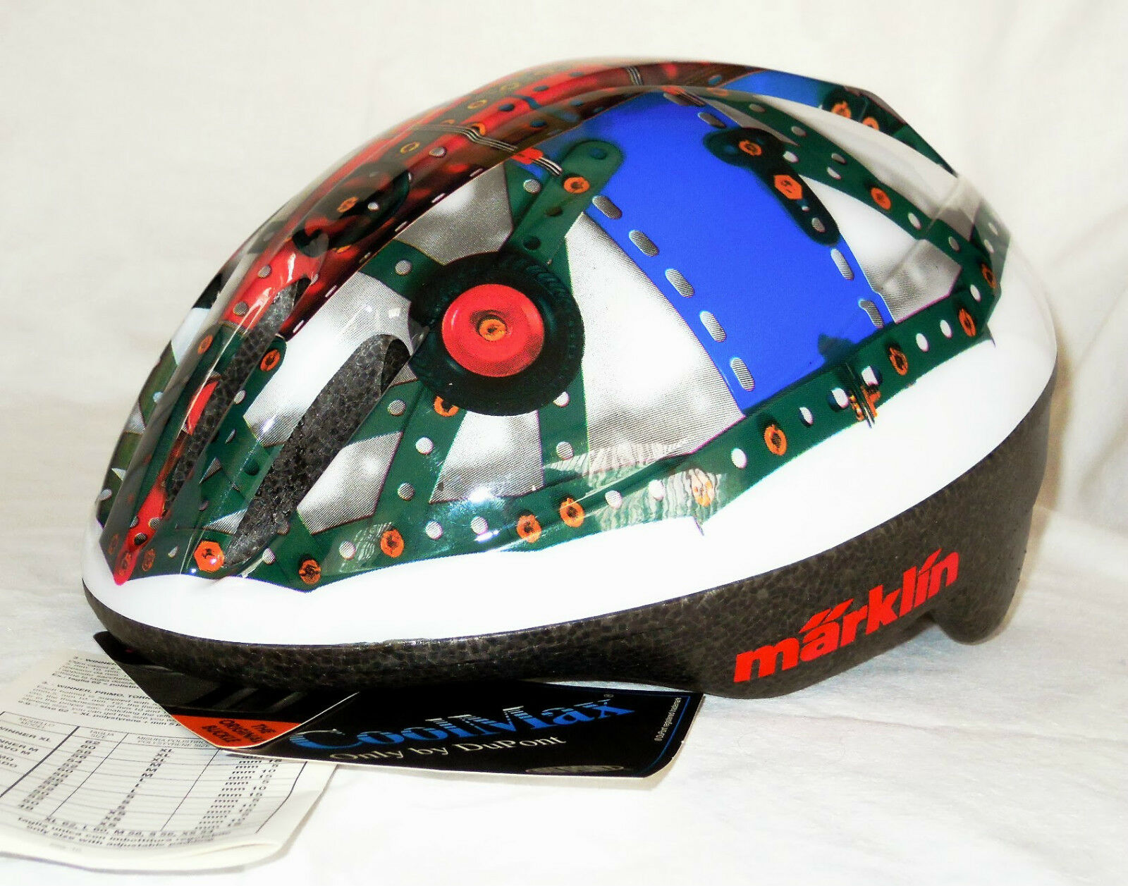 Märklin Fahrrad Helmet in Metal Construction Kit-Design, Größe  250, M, NEW