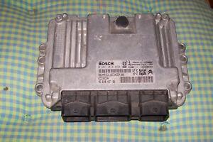 Motorsteuergeraet-Peugeot-Citroen-1-6-HDI-EDC16C34-0281013872-9664843780