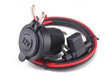 Waterproof Power Plug Outlet Cigarette Lighter Socket 12V Motorcycle Jeep ATV
