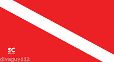 "Microfiber Towel - Dive Flag - Scuba Dive - Travel - Large 32"" x 60"" - D680"