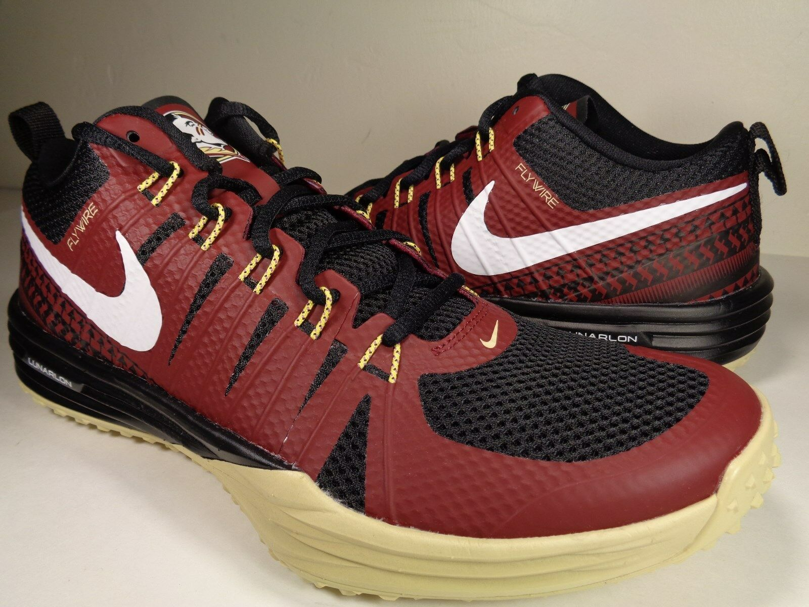Nike Lunar TR1 NRG Week Florida State Seminoles FSU Week NRG One Gold SZ 9.5 (654283-706) bb288b