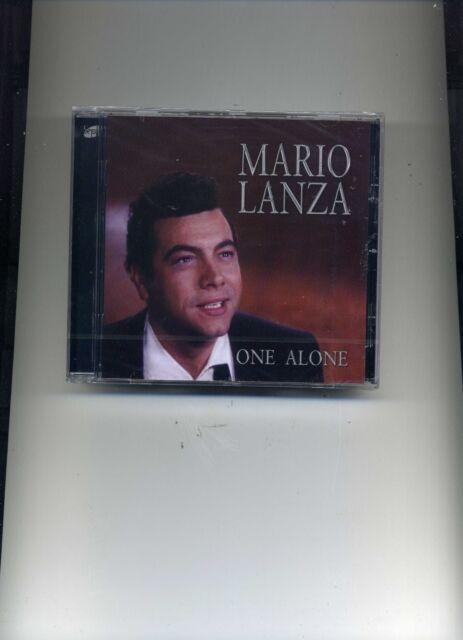MARIO LANZA - ONE ALONE - NEW CD!!