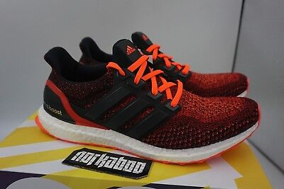Adidas Ultra Boost 2.0 Solar Red Core