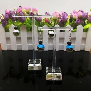6x T förmiger Schmuck Ohrring Display Standhalter Showcase Organizer Ohrring