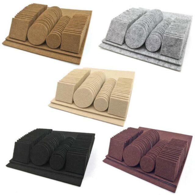 Self Adhesive Furniture Protector Felt Pad Cushion Dia 18pcs W6L3