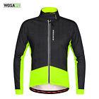 Men Fleece Thermal Winter Cycling Jacket Casual Coat Outdoor Bike Jersey 2 Color