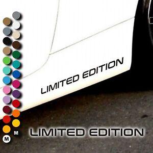 A109-Aufkleber-LIMITED-EDITION-Motorsport-Sport-Sports-Mind-Tuning-Auto-Sticker
