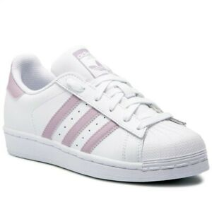 SCARPE-SNEAKERS-ADIDAS-DONNA-SUPERSTAR-DB3347-BIANCO-PELLE-ORIGINAL-AI-2020-NEW