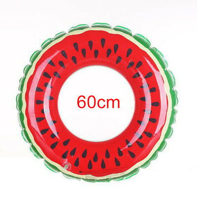 Multi-Size Swimming Inflatable Ring Watermelon Circle Adult Children Pool Beach