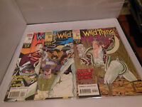 Wild Thing (1993 Marvel) #4, 6, 7 Comic Book Lot Marvel comics WILDTHING