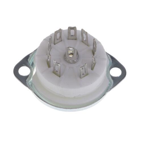 Röhrenfassung PCB Röhrensockel Noval Keramik 21.5mm Printmontage