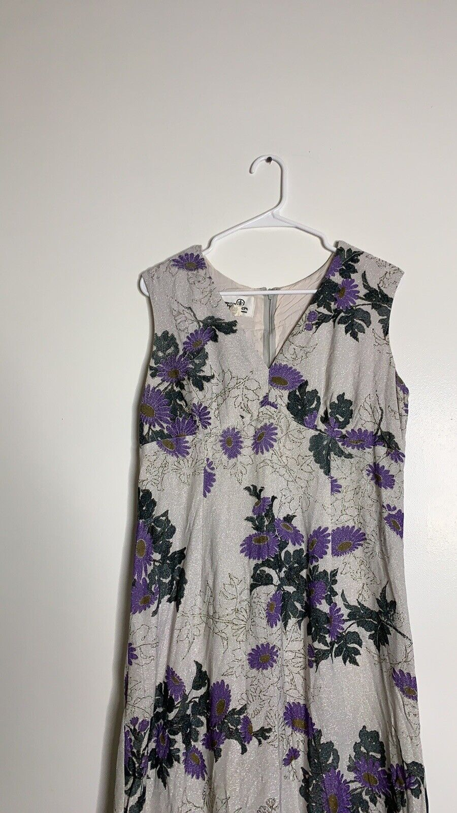 Vintage Alfred Shaheen Daisy Dress - image 3