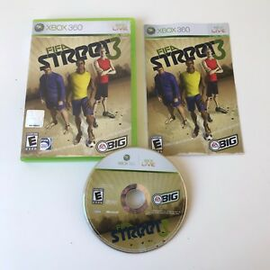 FIFA-STREET-3-Microsoft-Xbox-360-2008-COMPLETE-w-Manual-TESTED-WORKS